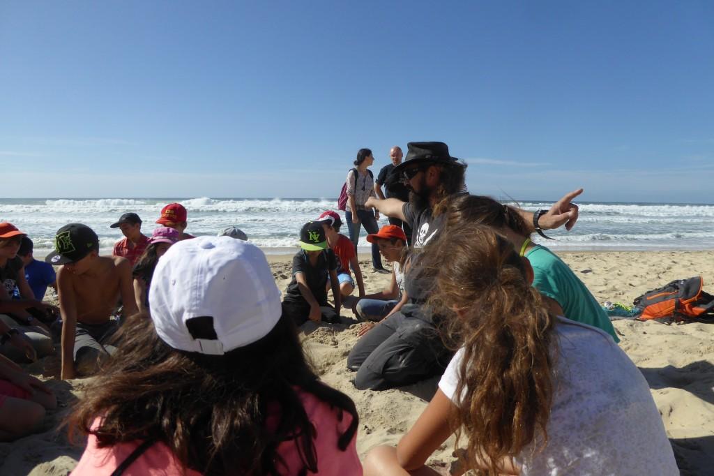 la découverte de la formation de la dune